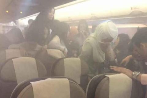 Hành khách hoảng loạn vì sạc dự phòng phát nổ trên máy bay-1