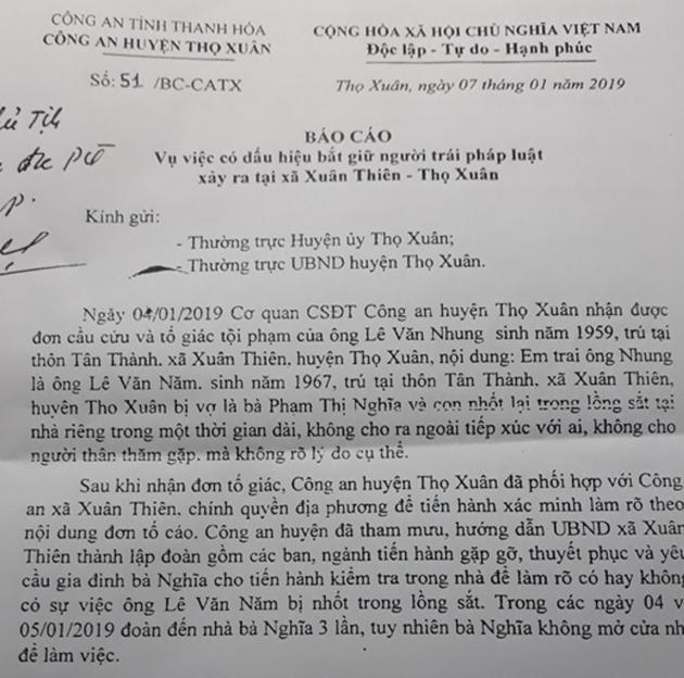 ĐÁNG SỢ: Người đàn ông bị vợ nhốt trong chuồng cọp hơn 3 năm ở Thanh Hóa-4