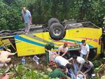 Xe khách lao vực đèo Hải Vân: Tài xế đã cố cho xe tựa sườn núi-3