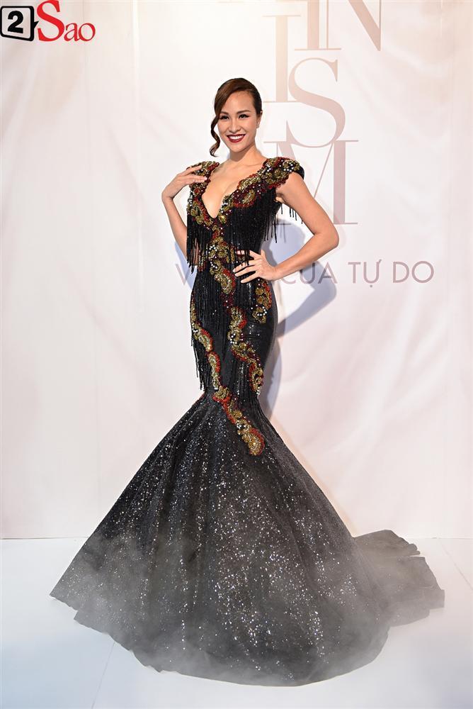 Bất chấp làn sóng tẩy chay, Hòa Minzy diện váy lồng lộn chặt chém dàn hoa hậu-7