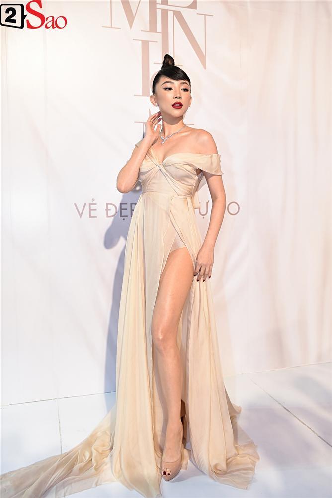Bất chấp làn sóng tẩy chay, Hòa Minzy diện váy lồng lộn chặt chém dàn hoa hậu-15