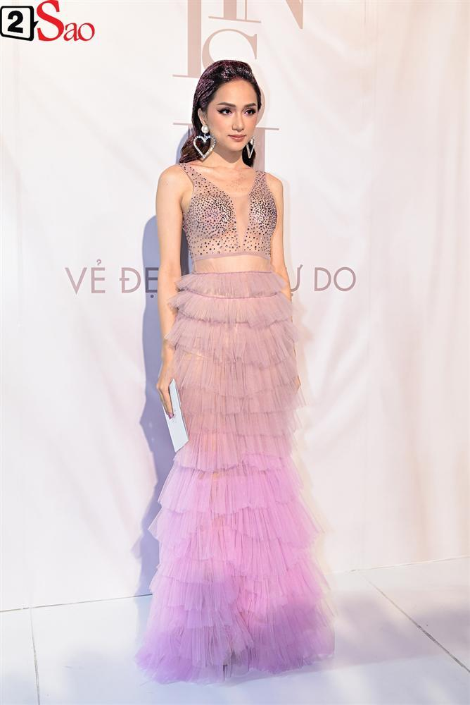 Bất chấp làn sóng tẩy chay, Hòa Minzy diện váy lồng lộn chặt chém dàn hoa hậu-22