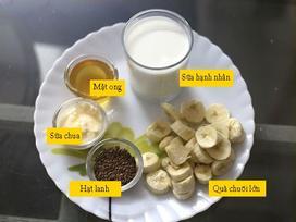 Sinh tố chuối thay bữa tối giúp giảm cân mà vẫn no bụng