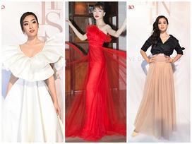 Bất chấp làn sóng tẩy chay, Hòa Minzy diện váy lồng lộn 'chặt chém' dàn hoa hậu