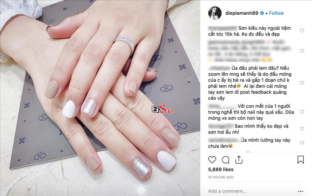 Cố quảng cáo tiệm nail của Kỳ Duyên, ai ngờ Diệp Lâm Anh lại hại chết hoa hậu vì bộ móng mắc tiền mà nhìn thấy ghê-2