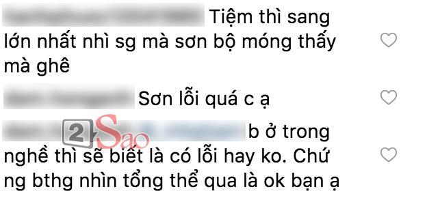 Cố quảng cáo tiệm nail của Kỳ Duyên, ai ngờ Diệp Lâm Anh lại hại chết hoa hậu vì bộ móng mắc tiền mà nhìn thấy ghê-3