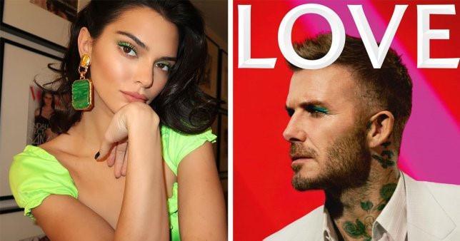 David Beckham gây xôn xao với ảnh trang điểm phấn mắt màu xanh-1