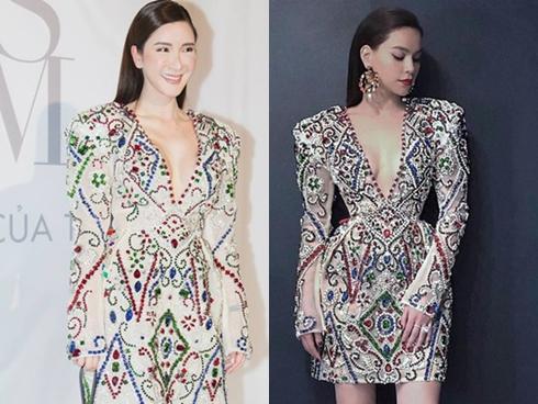 Lý Quí Khánh bị tố cho khách mời mặc váy cũ của Hồ Ngọc Hà