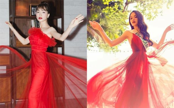 Nhại theo Hương Giang Idol cách pose dáng nữ thần, Hòa Minzy lập tức chiếm spotlight thảm đỏ-3