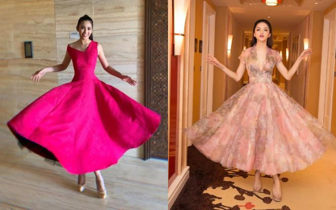 Nhại theo Hương Giang Idol cách pose dáng nữ thần, Hòa Minzy lập tức chiếm spotlight thảm đỏ-5