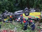 Thừa Thiên-Huế: Nguyên nhân bất ngờ vụ xe khách lao vực trên đèo Hải Vân