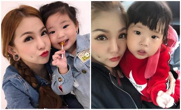 Từng bị nhà chồng cấm cửa vì xăm kín người, mẹ trẻ xinh đẹp khoe cận mặt con gái khiến người xem bất ngờ-5