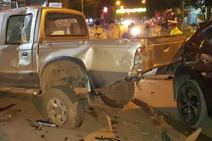 Thông tin chính thức vụ cảnh sát giao thông gây tai nạn liên hoàn-1