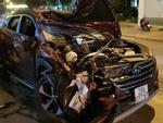 Cảnh tượng rùng rợn xe 16 chỗ bị tông nát bét trên quốc lộ 51-3