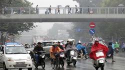 Dự báo thời tiết 11/1: Hà Nội mưa phùn, độ ẩm 98%