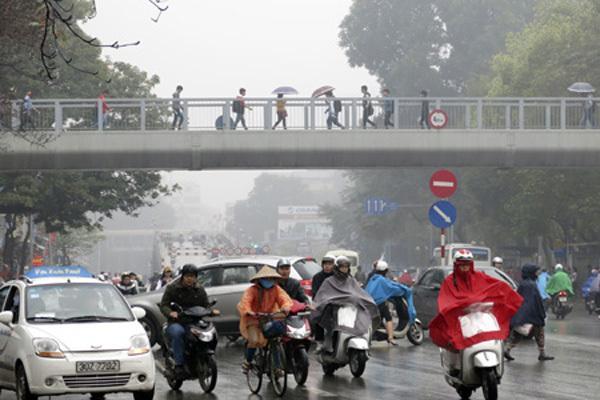 Dự báo thời tiết 11/1: Hà Nội mưa phùn, độ ẩm 98%-1