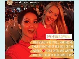 Hoa hậu Mỹ đăng ảnh tình cảm với H'Hen Niê sau vạ miệng chê tiếng Anh