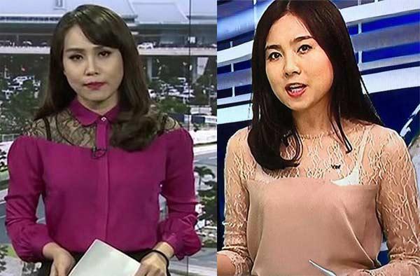 MC truyền hình mặc áo gây liên tưởng đến của quý-3