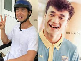 Phong độ ngời ngời khi bị chế ảnh răng móm, cầu thủ tuyển Việt Nam khiến người xem thốt lên 'không mê nổi'