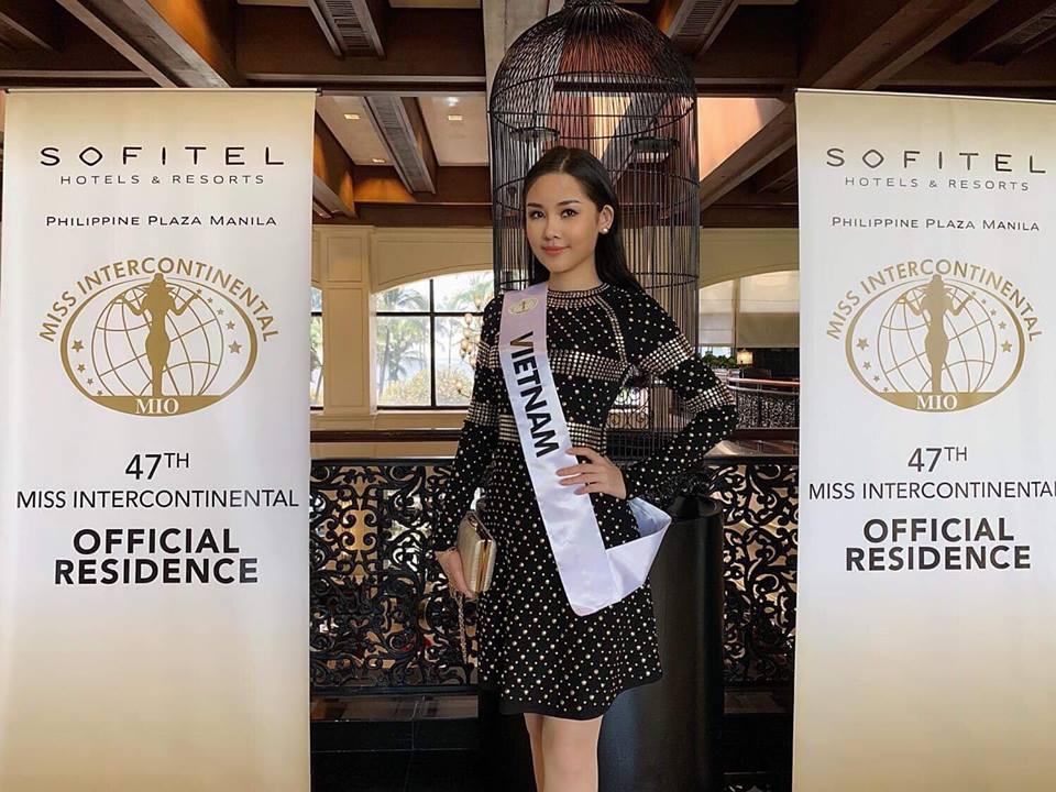 Lê Âu Ngân Anh mặc bikini nóng bỏng, thể hiện trình tiếng Anh với truyền thông quốc tế tại Miss Intercontinental 2018-5