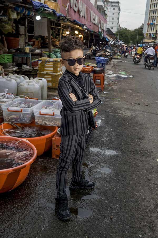 Mẫu nhí Minh Lâm chất lừ trong bộ ảnh mới-8