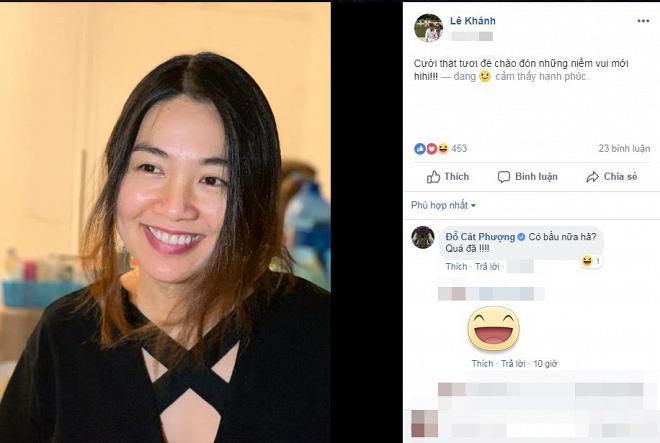 Lê Khánh dính nghi án mang bầu lần 2 khi con trai đầu lòng mới được 3 tháng tuổi-1