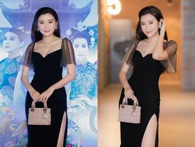 Cao Thái Hà diện váy xẻ cao quyến rũ ra mắt vai diễn trong web drama đầu tay