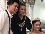 Lâm Khánh Chi thay 5 bộ váy, tiết lộ tên con trai đầu lòng trong kỉ niệm 1 năm ngày cưới