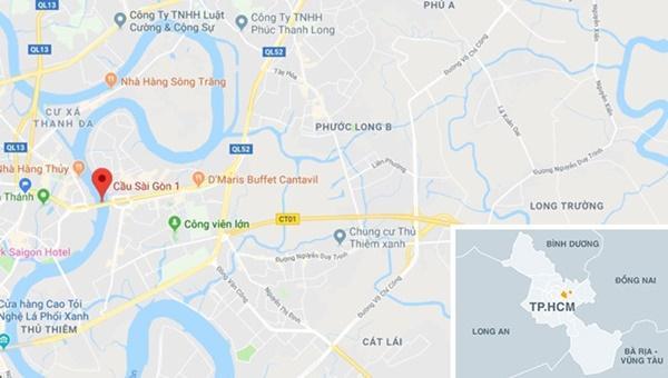 2 vụ tai nạn liên tiếp trên cầu Sài Gòn, 3 người thương vong-2