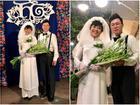 Thích thú ngắm loạt 'ảnh cưới' phong cách thập niên 80 của cặp MC Thảo Vân - Lê Anh