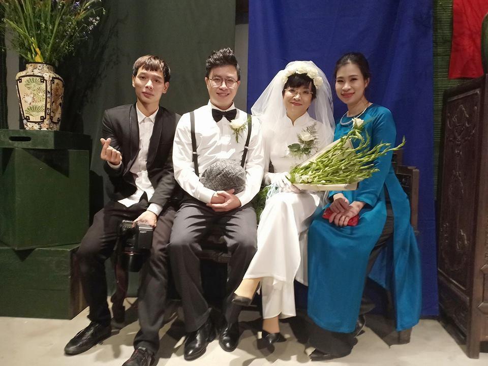 Thích thú ngắm loạt ảnh cưới phong cách thập niên 80 của cặp MC Thảo Vân - Lê Anh-11