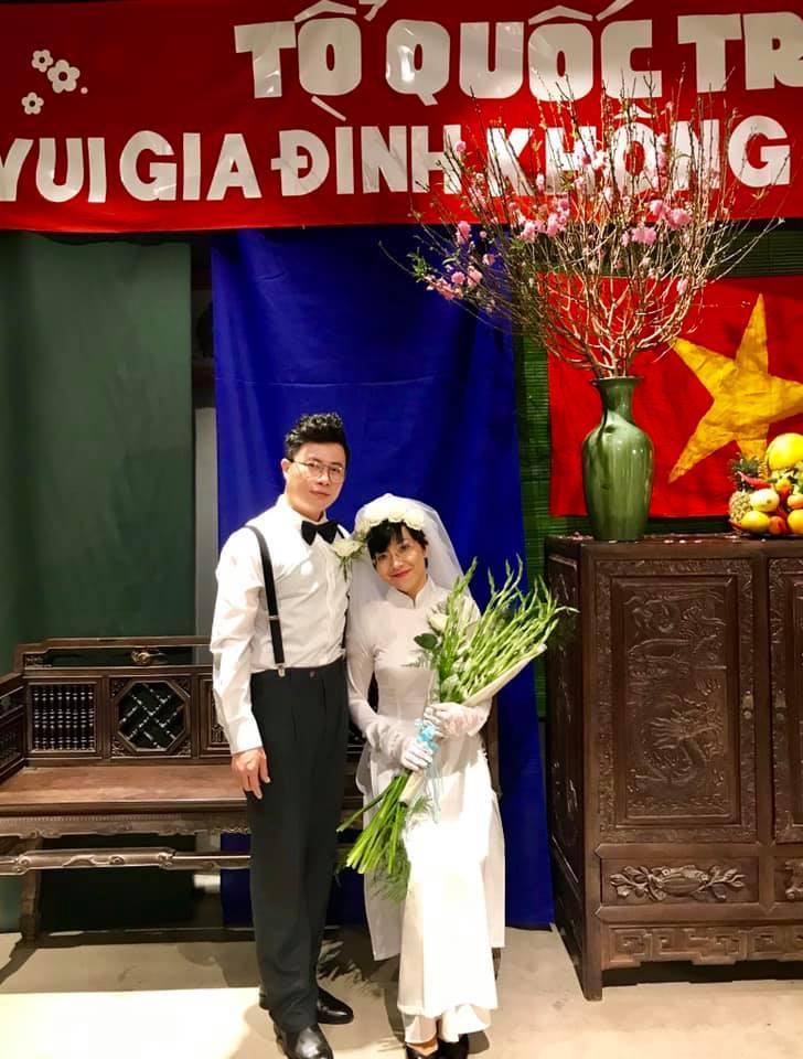 Thích thú ngắm loạt ảnh cưới phong cách thập niên 80 của cặp MC Thảo Vân - Lê Anh-5