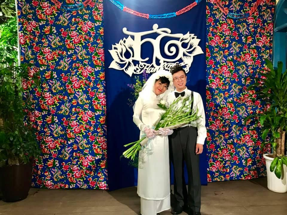 Thích thú ngắm loạt ảnh cưới phong cách thập niên 80 của cặp MC Thảo Vân - Lê Anh-7