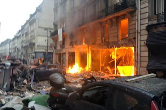 20 người thương vong trong vụ nổ do rò rỉ khí gas ở Paris-2
