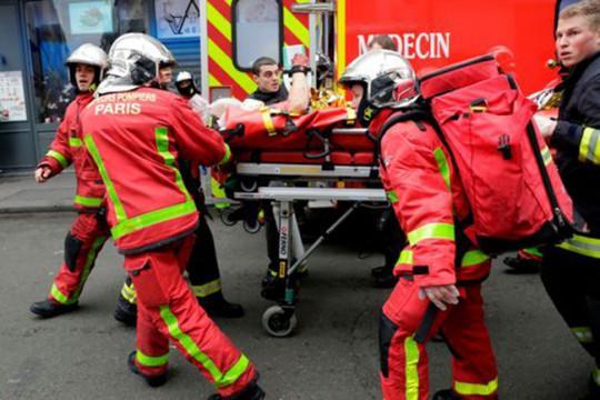 20 người thương vong trong vụ nổ do rò rỉ khí gas ở Paris-3