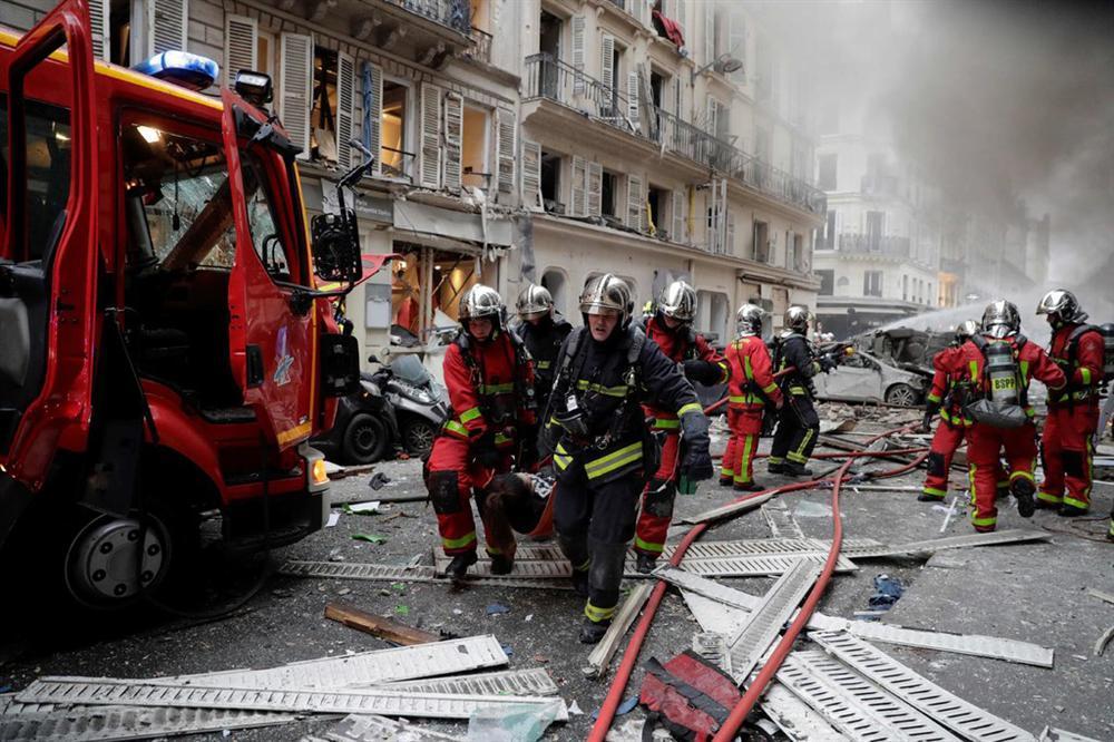 20 người thương vong trong vụ nổ do rò rỉ khí gas ở Paris-4