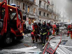 20 người thương vong trong vụ nổ do rò rỉ khí gas ở Paris