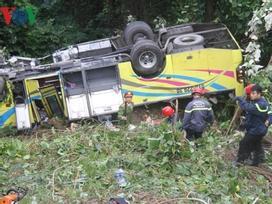 7 trong số 22 nạn nhân vụ lật xe khách trên đèo Hải Vân đã xuất viện