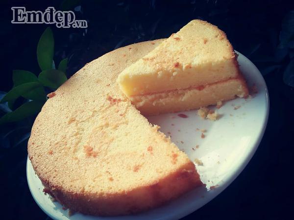 Công thức làm bánh bông lan nở xốp, mềm thơm y như ngoài hàng-1