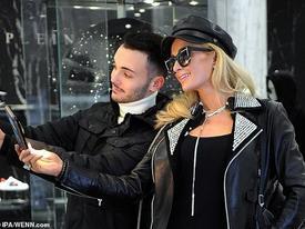 Paris Hilton mặc đồ 'siêu ngầu' đi mua sắm sau tin đồn tái hợp tình cũ