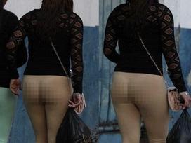 Ảnh HOT nhất ngày: Cô gái mặc quần mà cứ như trần truồng hiên ngang đi ngoài đường