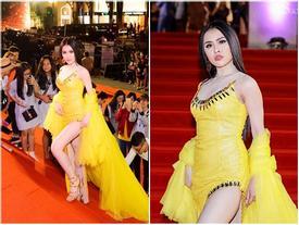 Bị chỉ trích 'làm lố' trên thảm đỏ Mai Vàng dù không được mời, Thư Dung khẳng định có vé tham dự lễ trao giải