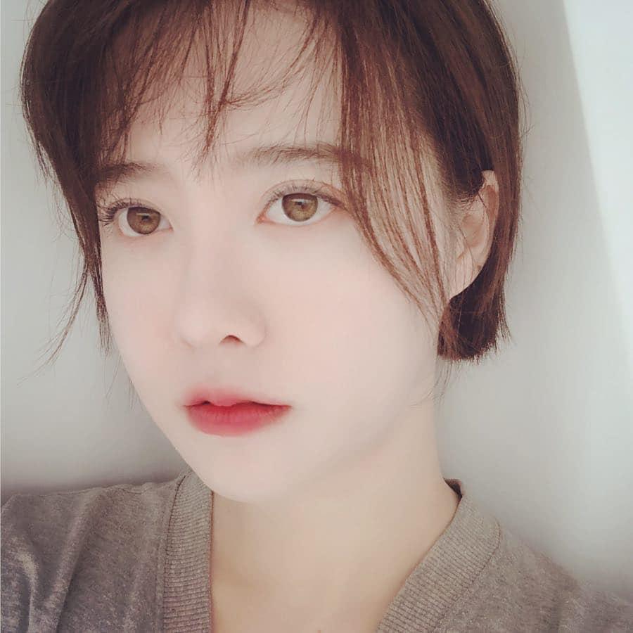 Nàng cỏ Goo Hye Sun tự nhận gương mình giống hệt ông xã Ahn Jae Hyun-1