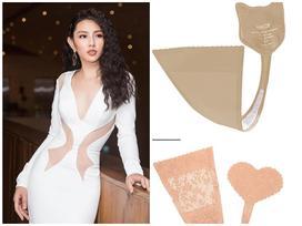 Mặc váy có khoảng hở 'hiểm hóc', người đẹp Hoa hậu Việt Nam phải mua bảo hộ đặc biệt