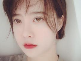 'Nàng cỏ' Goo Hye Sun tự nhận gương mình giống hệt ông xã Ahn Jae Hyun