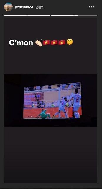 Yến Xuân dằn mặt fan, khen Lâm Tây chơi hay trước Iran-1