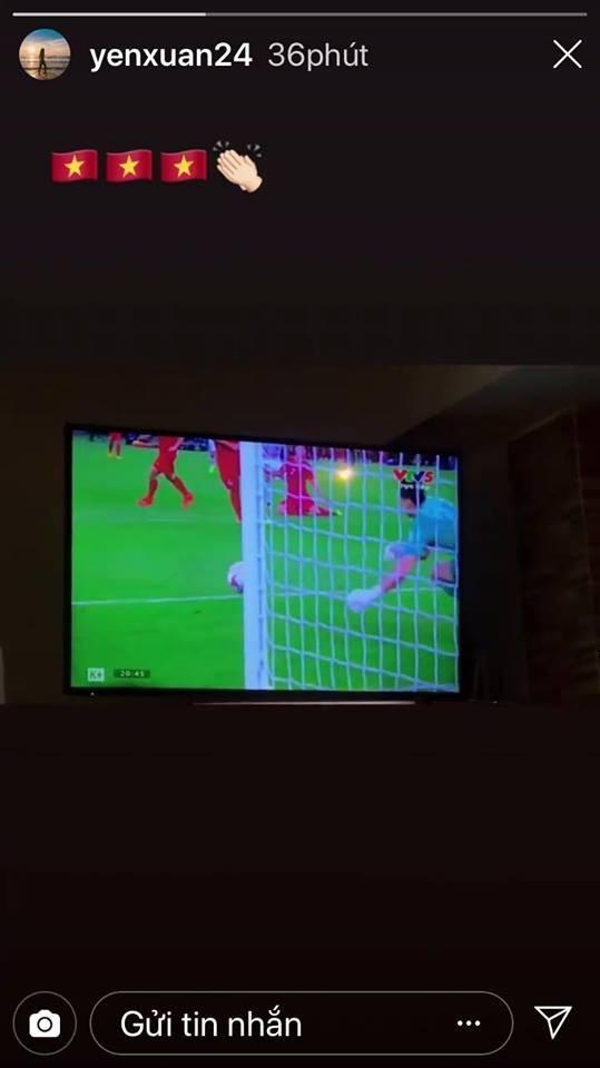 Yến Xuân dằn mặt fan, khen Lâm Tây chơi hay trước Iran-2