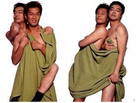 Chùm ảnh khỏa thân của Cổ Thiên Lạc và Lưu Thanh Vân bị dân mạng chế giễu không ngớt