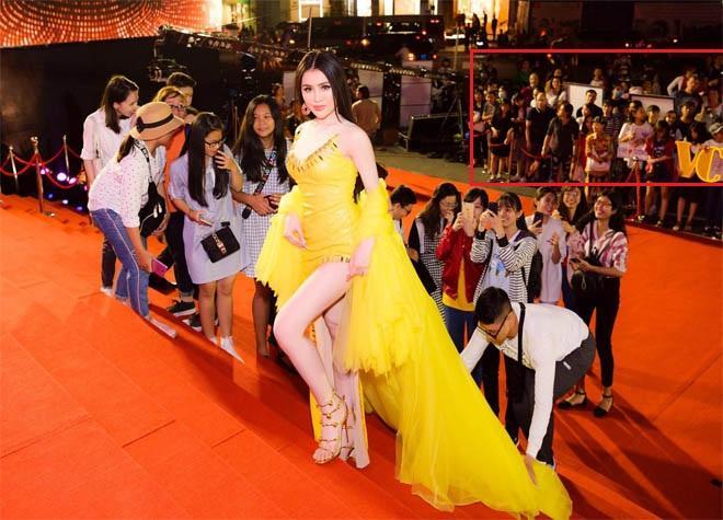 Xuất hiện clip chứng minh Thư Dung thuê đội quân cổ vũ lộ liễu trên thảm đỏ Mai Vàng-6
