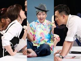 Đang thân thiết bạn dì, Hari Won bất ngờ than trách Trường Giang: 'Sao anh nỡ đốt nhà vợ chồng em?'